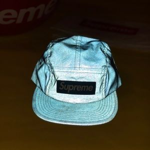bbb8cd76a Supreme '3M' Blue 5 Panel Hat